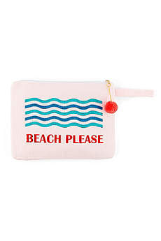 Personalized Beach Please Wet Bikini Bag