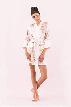 Personalized Blissful Bloom Silky Kimono