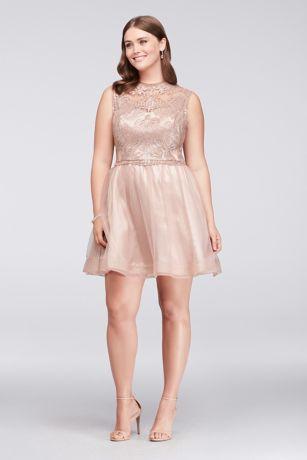 b82540ef3c3 Short Ballgown Cap Sleeves Dress - Sequin Hearts