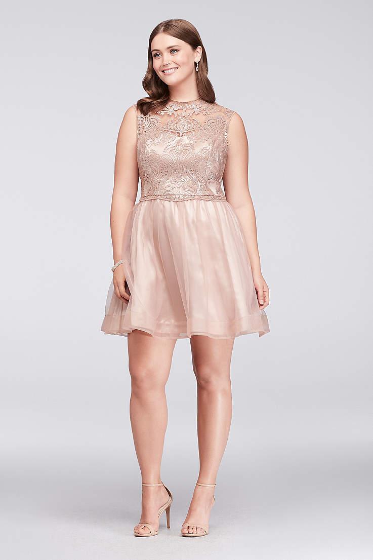 b65cc7968a7 Short Ballgown Cap Sleeves Dress - Sequin Hearts