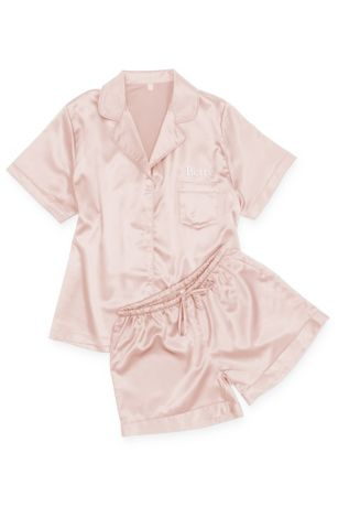 Personalized Satin Sleep Set