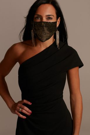 Sequin Face Mask with Adjustable Ear Loops