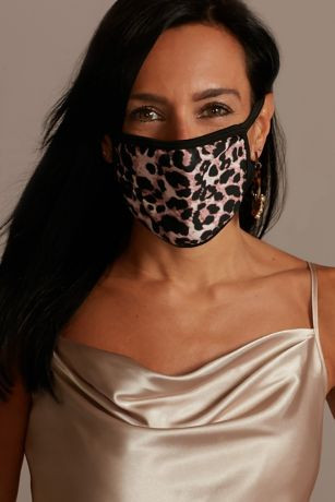 Leopard Printed Cloth Fashion Face Mask