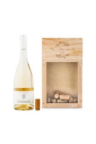 Personalized Wooden Wine Cork Holder