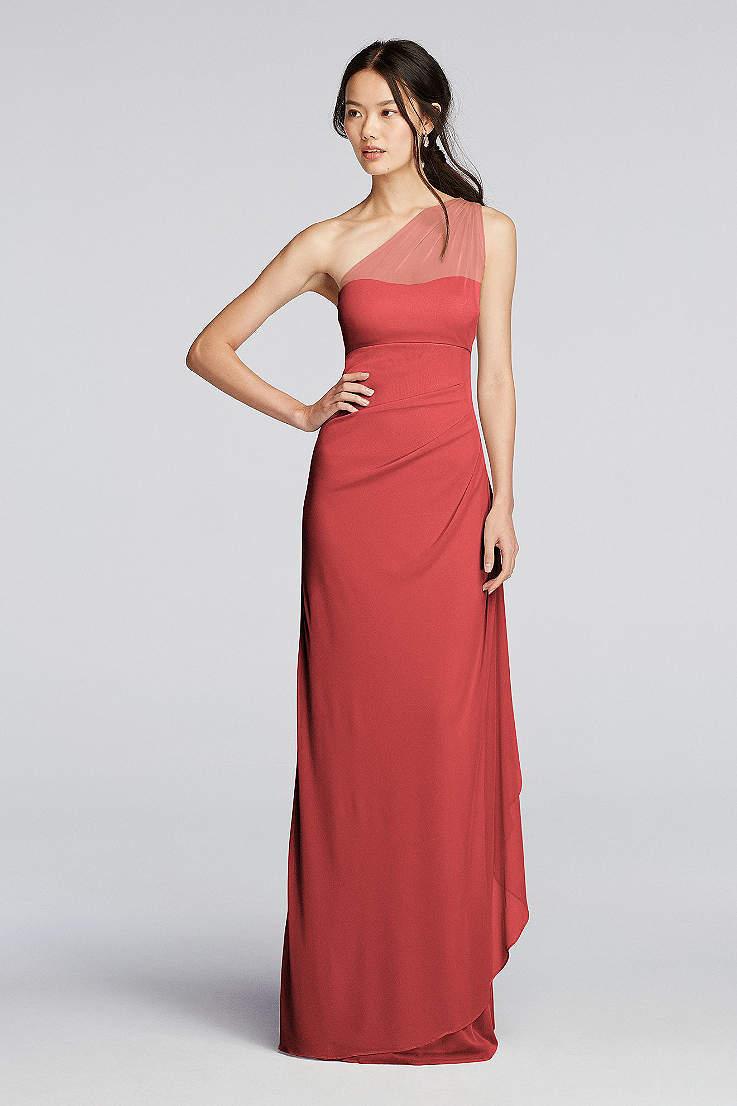 5c64513b8325e Tall Bridesmaids Dresses Extra Length Dresses | David's Bridal