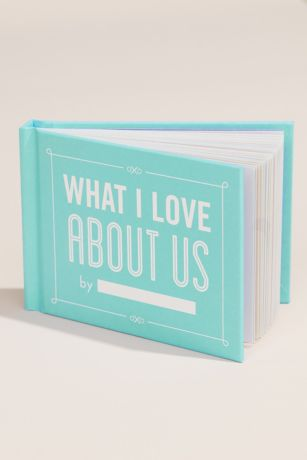 What I Love About Us Fill-In Book