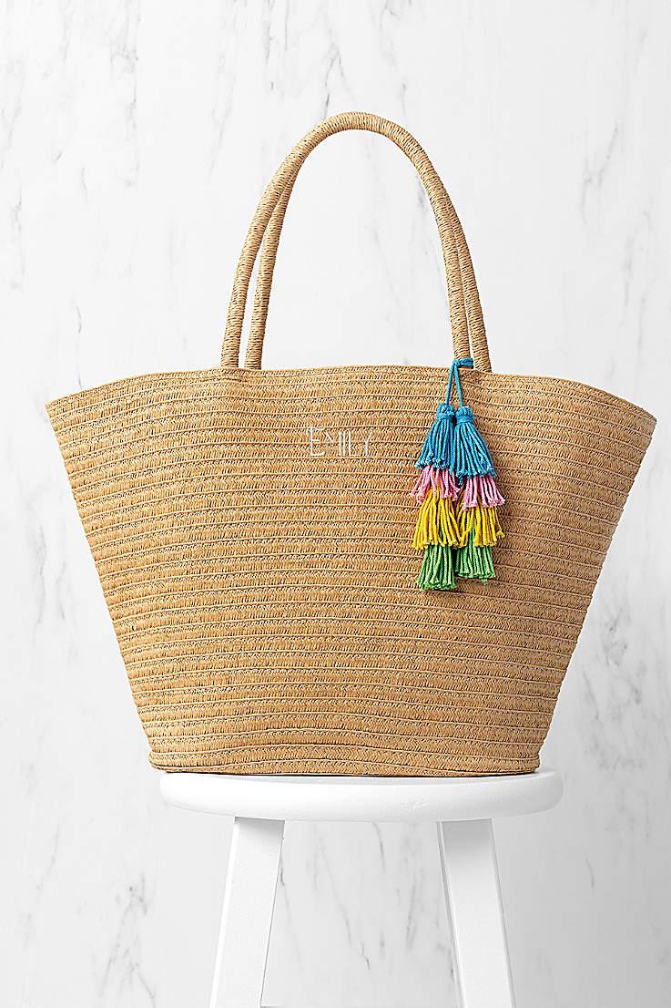 3ba0d6e89a Bridal & Bridesmaid Totes & Cosmetic Bags | David's Bridal