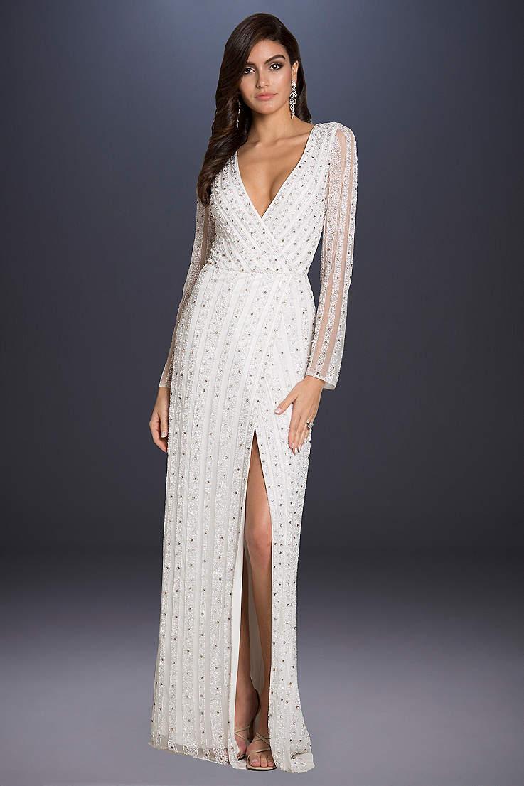 9ea62cbd29c Blue Long Sleeve Lace Wedding Dress - Data Dynamic AG