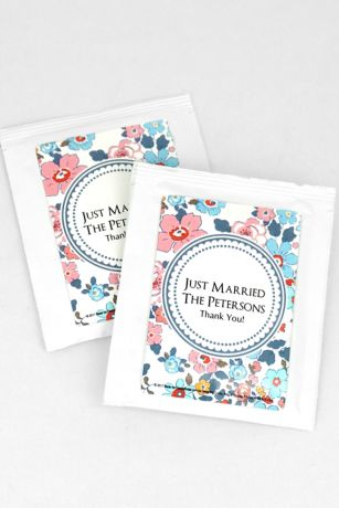 Personalized Floral Pattern Wedding Tea