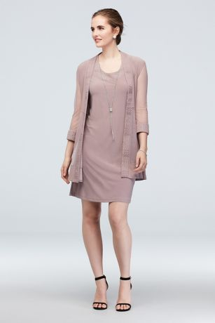 Long Sheath Jacket Dress - RM Richards