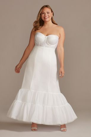 Full Fit and Flare Bridal Slip