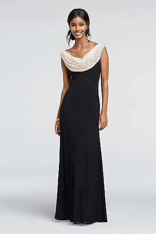 K'Mich Weddings - wedding planning - mother of the bride dresses - Long Sheath Tank Formal Dresses Dress - Cachet