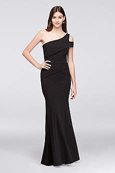 Long Mermaid/ Trumpet One Shoulder Formal Dresses Dress - Cachet