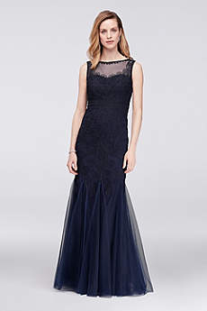 Long Mermaid/ Trumpet Tank Formal Dresses Dress - Cachet