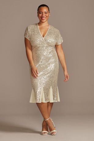 Tea Length Wedding Dress - RM Richards