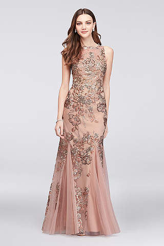 Fit & Flare Prom Dresses & Gowns | David\'s Bridal