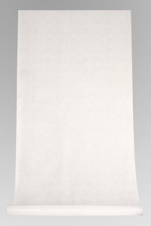 White Victorian Scroll Aisle Runner