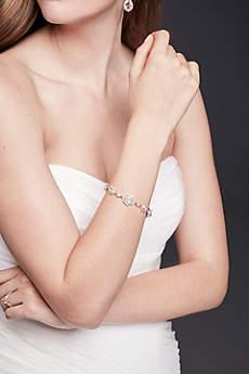 Faceted Bold Gem Bracelet