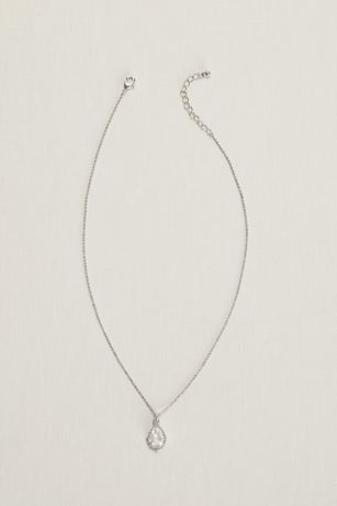 Pear Stone Necklace