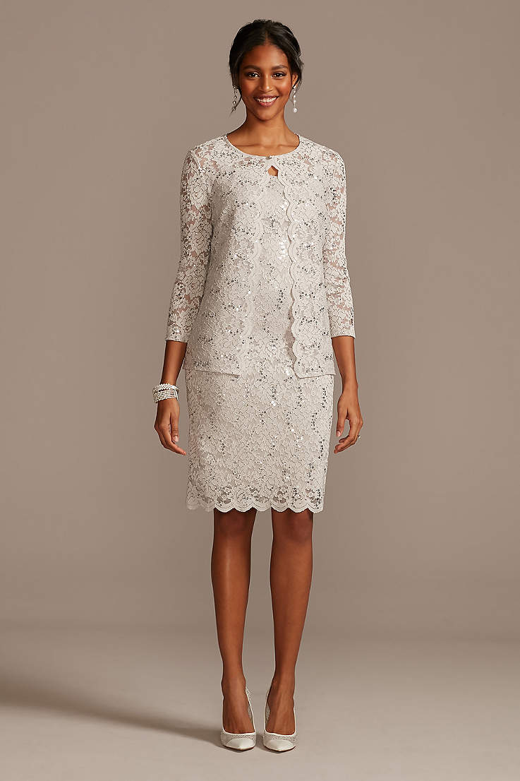 Short Mother Of The Bride Groom Dresses David S Bridal