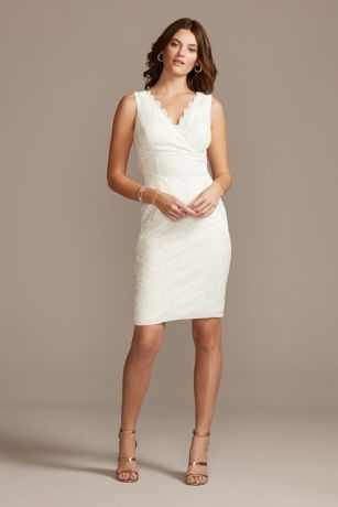 Soft & Flowy;Structured DB Studio Short Bridesmaid Dress