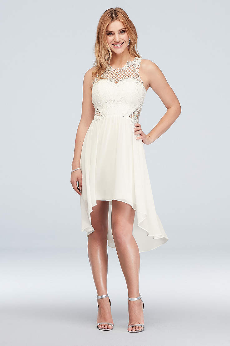 fc1b23576cc Little White Dresses in Various Styles   Lengths