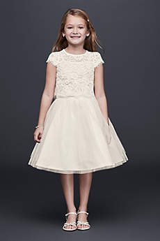 Short Ballgown Short Sleeves Dress - US Angels