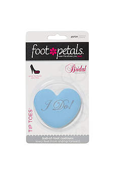Footpetals Blue Shoe Accessories (Foot Petals I Do Tip Toes)