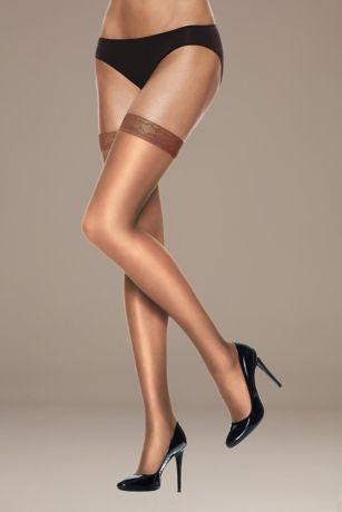 Hanes Silk Reflections Thigh High Stockings