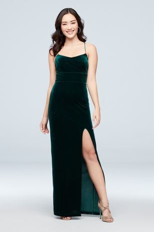 Long Sheath Spaghetti Strap Dress - Choon