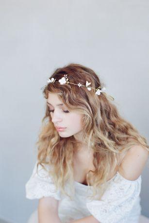 Simple Sugar Blossom Hair Vine