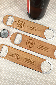 Personalized Wood Paddle Bottle Openers 7564050