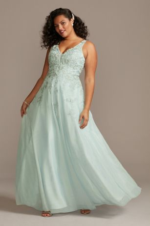 Long Ballgown Tank Dress - Xscape