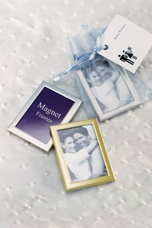 Magnet Back Mini Photo Frames - Pack of 3