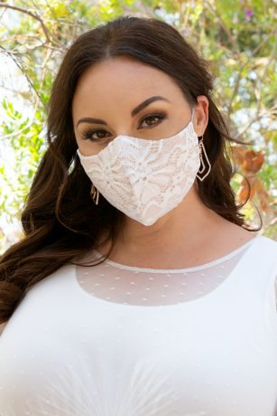 Lace Face Mask with Adjustable Loops
