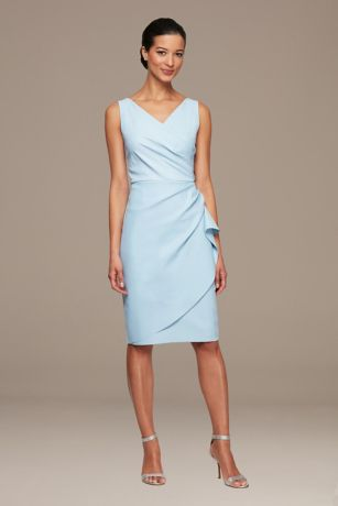 Short A-Line Tank Dress - Alex Evenings
