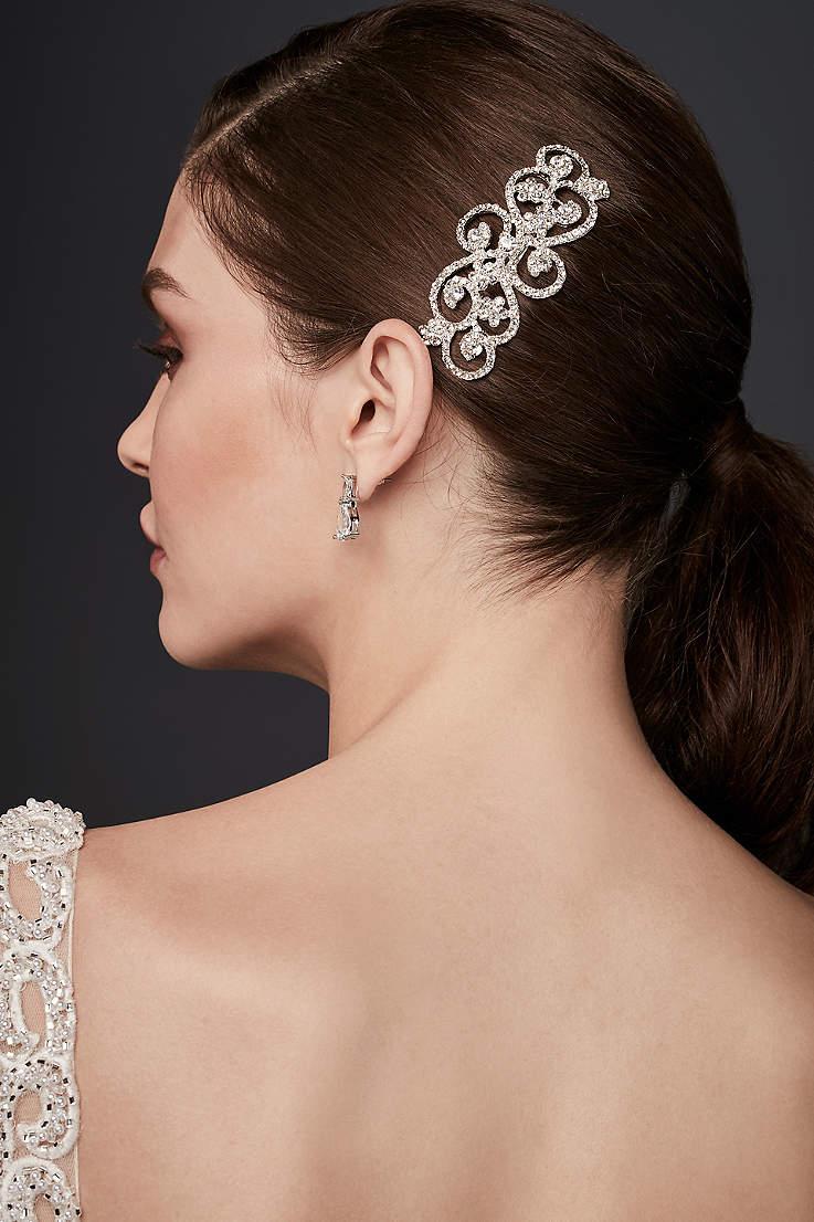 bridal and wedding hair combs & clips | david's bridal