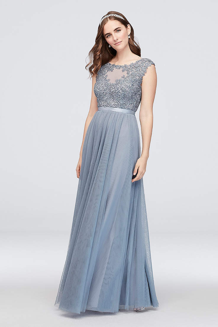 new specials modern design exclusive range Cap Sleeve Prom Dresses: Formal Gowns | David's Bridal