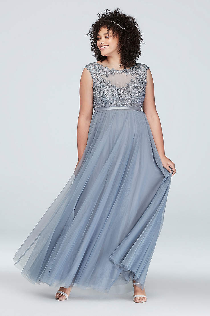 568da031 Plus Size Prom Dresses and Homecoming Gowns | David's Bridal