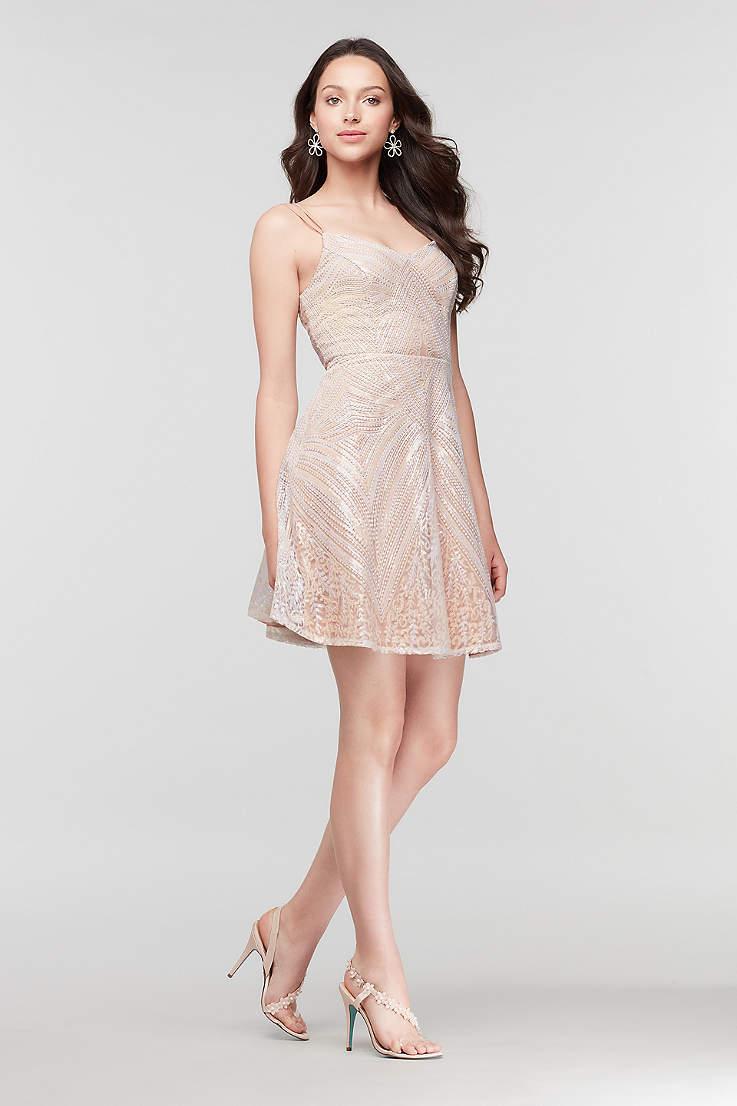 5e8c35d9ffa3b Deep V-Neck and V-Neck Prom & Homecoming Dresses   David's Bridal