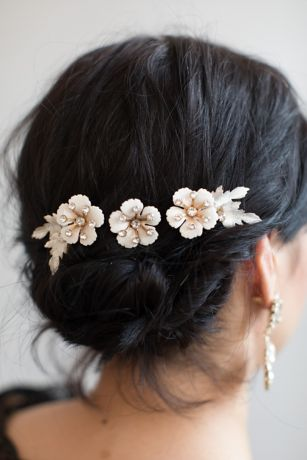 Sugar Blossom Hair Pin Set