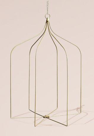 Gold Wire Arch Chandelier