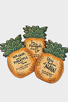 Personalized Pineapple Cork Coaster 8499107