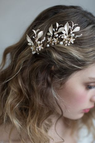 Dainty Blossom and Crystal Hairpin