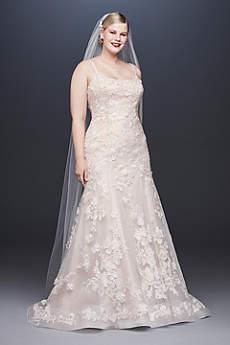 Long Mermaid Trumpet Wedding Dress Oleg Cini