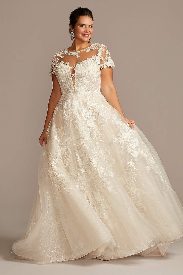 Princess Cinderella Wedding Dresses David S Bridal
