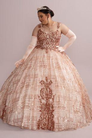 Long Ballgown Tank Dress - Fifteen Roses
