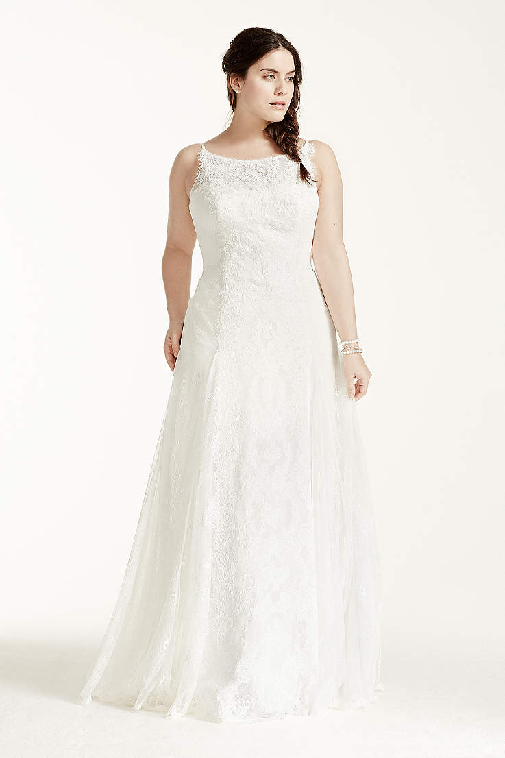 Long A Line Wedding Dress Melissa Sweet