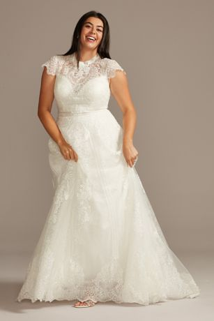 Long A-Line Wedding Dress - Melissa Sweet