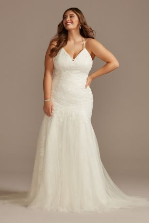 Long Mermaid / Trumpet Wedding Dress - Melissa Sweet